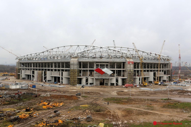 Пуск тепла на стадионе «Открытие Арена»