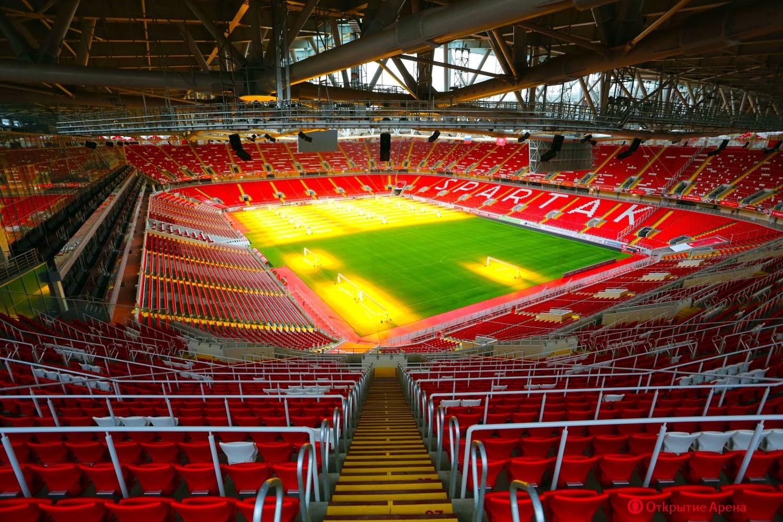 Otkrytie Arena - Spartak Stadium, Tušino